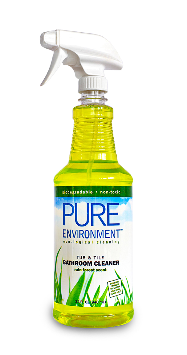 Bathroom Cleaner pure environment eco-logical cleaning : bathroom cleaner